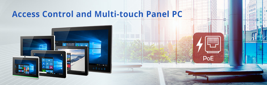 Access Control and Multi-touch Panel PC